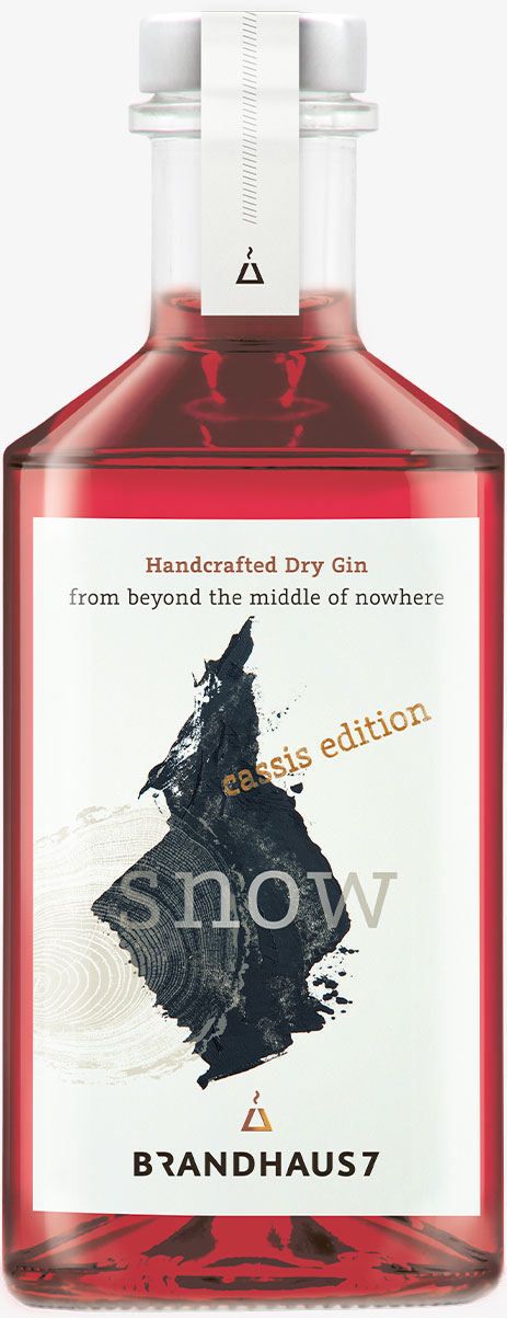 Snow Gin (Cassis Edition)